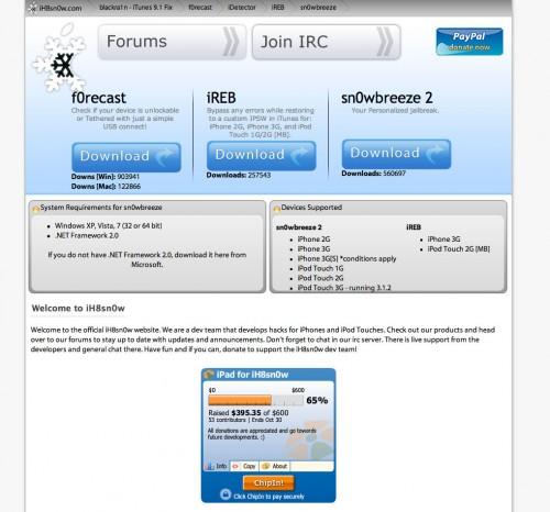 131 500x466 Jailbreak News   iReb bientôt disponible pour tous les appareils au firmware 4.1