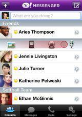 14 AppStore   Yahoo! Messenger supporte maintenant lappel visio en Wifi et 3G