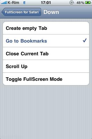 140 Cydia   FullScreen for Safari : Utiliser Safari avec des gestes