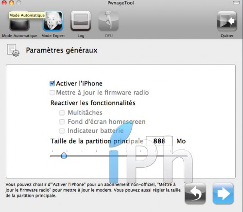 154 500x437 Tutoriel   Jailbreak 4.3.2 iPhone 4 Semi Untethered avec PwnageTool [MAC]