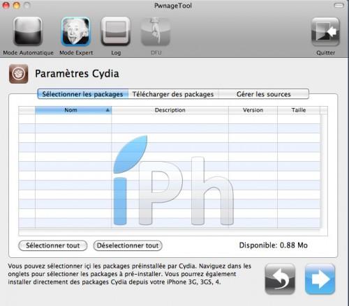 155 500x439 Tutoriel – PwnageTool  4.1 : Jailbreak 4.1 de l'iPhone 3G / 3GS / 4 de l'iPod Touch 3G / 4G de l'iPad et de l'Apple TV 2G