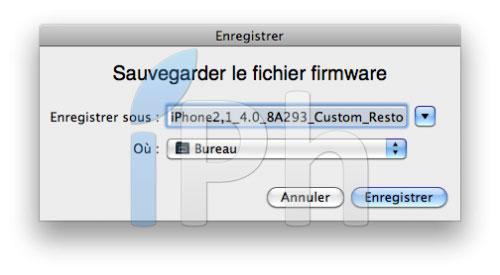 159 Tutoriel – PwnageTool  4.1 : Jailbreak 4.1 de l'iPhone 3G / 3GS / 4 de l'iPod Touch 3G / 4G de l'iPad et de l'Apple TV 2G