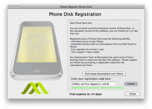 169 500x357 News   Phone Disk : Explorateur SSH gratuit jusquau 1er Decembre