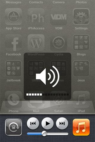 188 Cydia   AppSwitcherVolume : Contrôler le volume depuis la barre multitâche