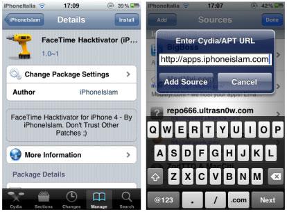 197 Cydia   Facetime Hacktivator : Activez Facetime nimporte où