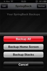 213 160x240 Cydia   SpringBack 4.0 : Faites un backup de la position des icônes sur la SpringBoard