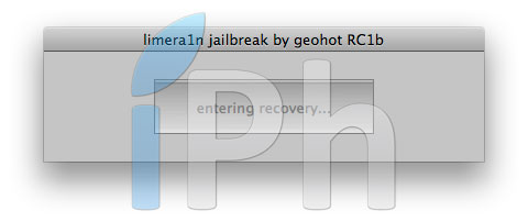 215 Tutoriel – Jailbreak 4.1 avec limera1n iPhone 4 / 3GS, iPad, iPod Touch 3G / 4G [MAC OS X]