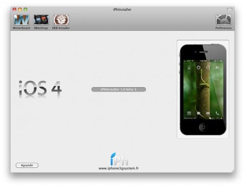 221 500x382 iPhInstaller   Version Mac OS X enfin disponible