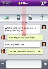 24 AppStore   Yahoo! Messenger supporte maintenant lappel visio en Wifi et 3G