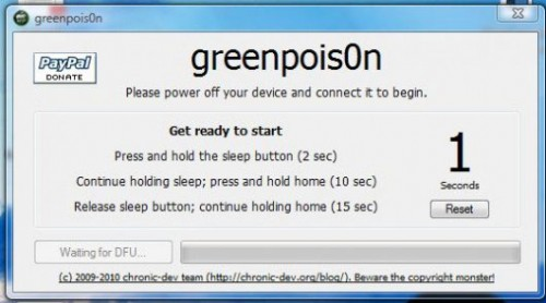 27 500x278 Tutoriel – Greenpois0n : Comment jailbreaker son iPhone 3GS / 4 ou iPod Touch 3G / 4G ou son iPad [EDIT]