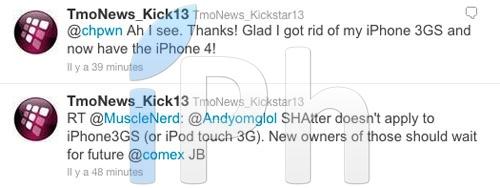 3 Jailbreak News   Le jailbreak 4.1 ne fonctionnera pas pour iPhone 3GS