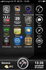 321 160x240 Themes   GlassIllumine : Un nouveau thème pour votre iPhone