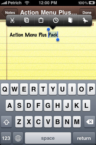 34 Cydia : Action Menu, Display Recorder et OverBoard mis à jour : compatibles iOS 4.1