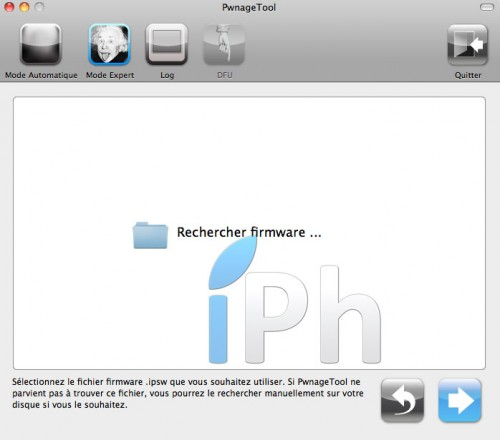 43 500x440 Tutoriel – PwnageTool  4.1 : Jailbreak 4.1 de l'iPhone 3G / 3GS / 4 de l'iPod Touch 3G / 4G de l'iPad et de l'Apple TV 2G