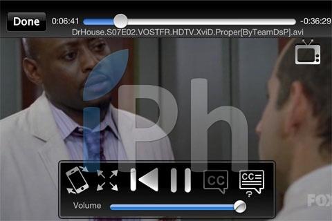 44 AppStore   CineXPlayer : Lire des DivX sur votre iPhone, iPod Touch et iPad