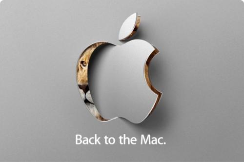 back to the mac media event 500x332 News   MAC OS X Lion : Apple diffusera ce soir en live streaming à 19h