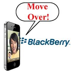bberry10 22 News   LiPhone possède plus de parts de marchés que BlackBerry