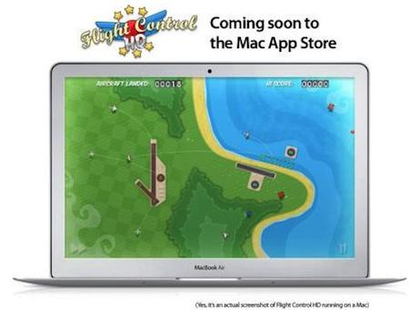 flight control mac app store News – Mac App Store : Flight Control sera le premier jeu disponible sur Mac