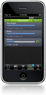 iphone3 160x328 News   Spacial View : liPhone pourra bientôt nous permettre de visionner des films en 3D