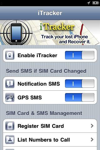 itracker cydia Cydia   iTracker : Retrouvez facilement votre iPhone
