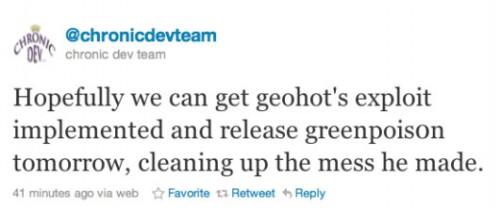 lim 500x208 Jailbreak News   GreenPoison pourrait utiliser la faille de Geohot au lieu de SHAtter !