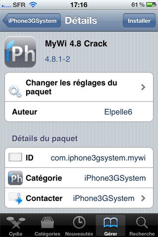 mywi repo Tutoriel   Comment cracker MyWi 4.8.1