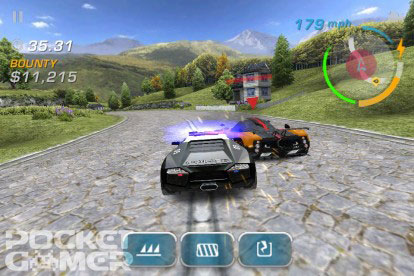 nfshotpursuit Jeux   Need For Speed Hot Pursuit : Le premier screenshot