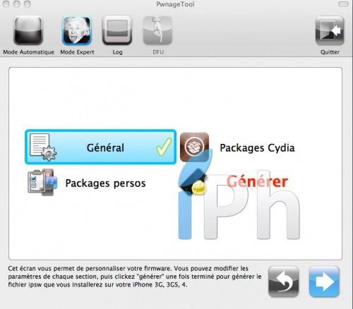 panno1 500x438 Tutoriel   PwnageTool 4.2 : Jailbreak iOS 4.3 GM pour iPhone 4 [MAC]