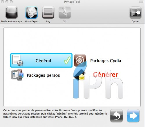 panno1 500x438 Tutoriel – PwnageTool  4.1 : Jailbreak 4.1 de l'iPhone 3G / 3GS / 4 de l'iPod Touch 3G / 4G de l'iPad et de l'Apple TV 2G