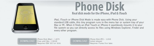 screen 500x150 News   Phone Disk : Explorateur SSH gratuit jusquau 1er Decembre