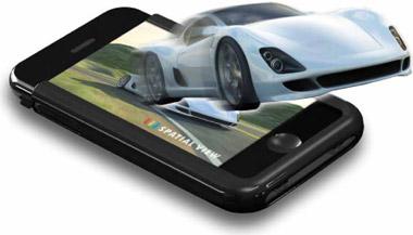 slide screenshot News   Spacial View : liPhone pourra bientôt nous permettre de visionner des films en 3D