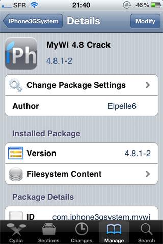 1102 Cydia   MyWi passe en version 4.9.10