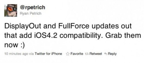 1144 500x221 Cydia   Display Out et FullForce compatibles iOS 4.2.1