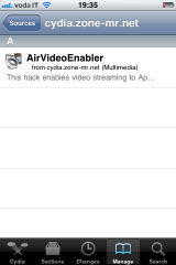1145 Cydia   AirVideoEnabler : Activez AirPlay Video Streaming pour toutes les applications