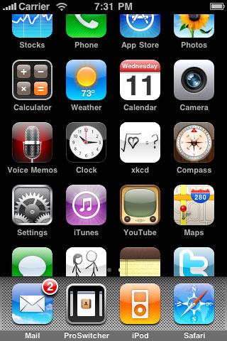 1147 Source iPhone3GSystem    De nombreuses applications mises à jour