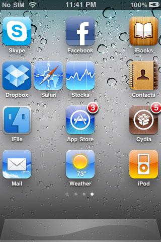 1149 Source iPhone3GSystem    De nombreuses applications mises à jour