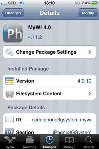 1151 Cydia   MyWi mis à jour en version 4.11.2 [CRACK]