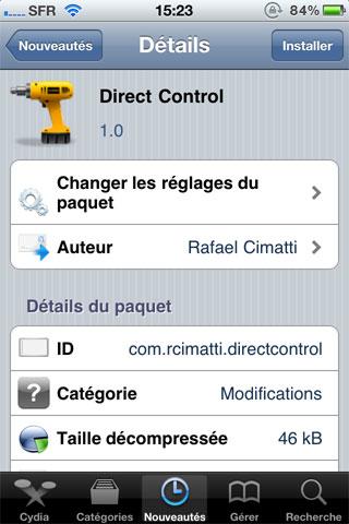 116 Cydia   Direct Control : Affichez directement les contrôles de liPod