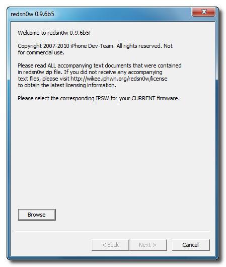 1167 Tutoriel   UltraSn0w : désimlockage baseband iOS 4.1 / 4.2.1 [WINDOWS]