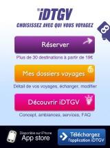119 160x215 AppStore   iDTGV : Commander des e billets via liPhone