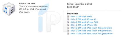17 News   iOS 4.2 GM (Golden Master) disponible : Les nouveautés