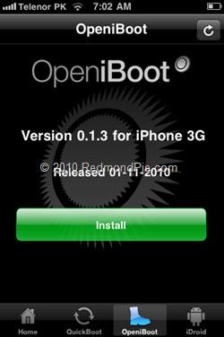 186 Tutoriel   Installer Android sur iPhone 2G / 3G sans ordinateur