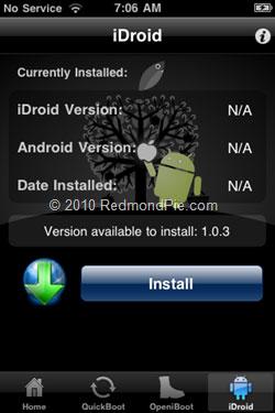 187 Tutoriel   Installer Android sur iPhone 2G / 3G sans ordinateur