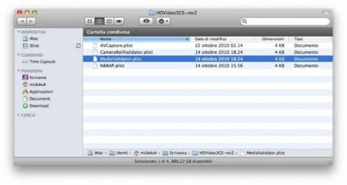 21 500x267 Tutoriel   Comment filmer en 720p sur iPhone 3GS