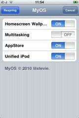 213 160x240 Cydia   MyOS : Activer, désactiver des fonctions de liOS 4