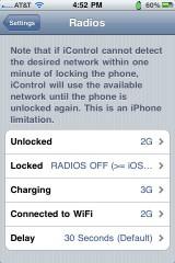 22 160x240 Cydia   iControl : Contrôlez la connectivité de votre iPhone