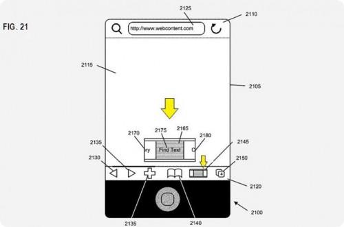223 500x331 News   Brevet : Nouvelle interface de navigation dans une application