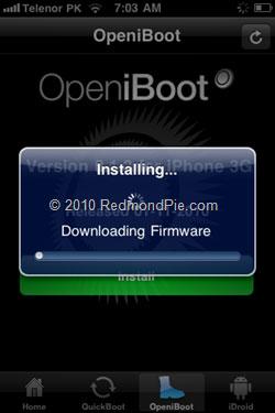 238 Tutoriel   Installer Android sur iPhone 2G / 3G sans ordinateur