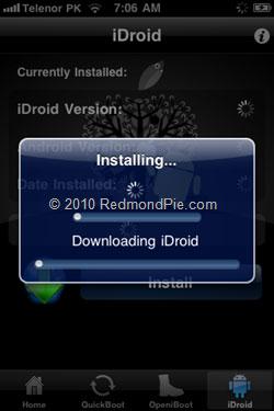240 Tutoriel   Installer Android sur iPhone 2G / 3G sans ordinateur