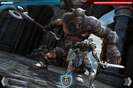 25 News   Les premiers screenshots de Infinity Blade sur iOS